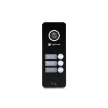 Панель видеодомофона Optimus DSH-1080/3 (Черный)